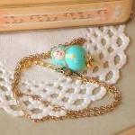 Children necklace with Matryoshka c..